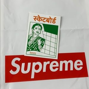 Supreme | Arabic Logo Sticker